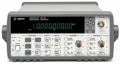 Agilent Frequency Counter : Agilent technologies a hp rf frequency