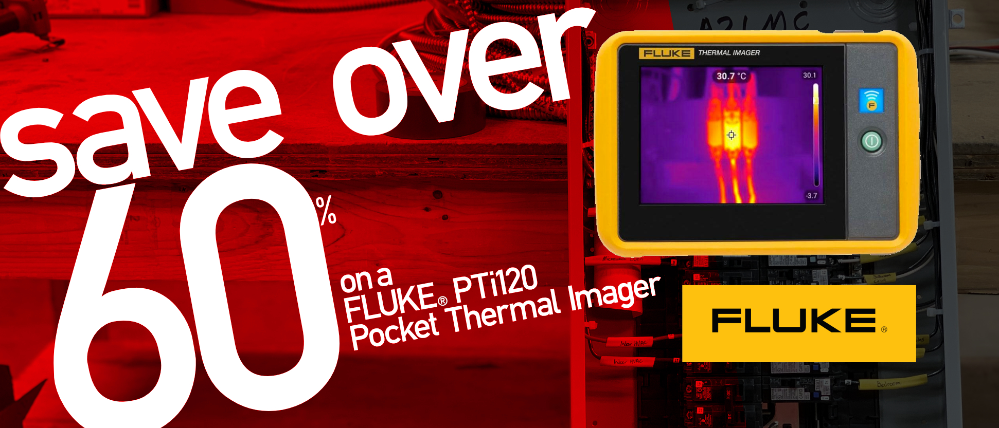Save on a Fluke PTi120 Pocket Thermal Imager